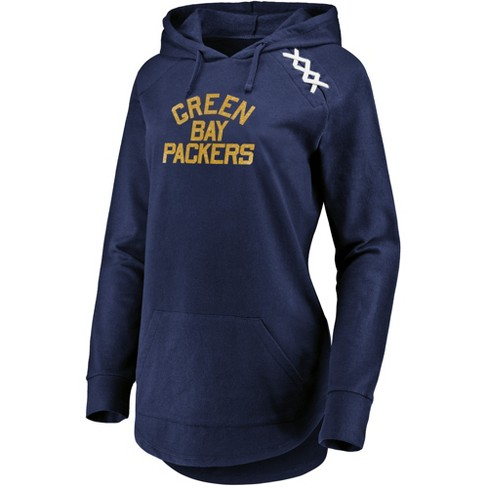 7fbdbc7eafe Green Bay Packers Women s Leveraging Momentum Lightweight Hoodie M ...