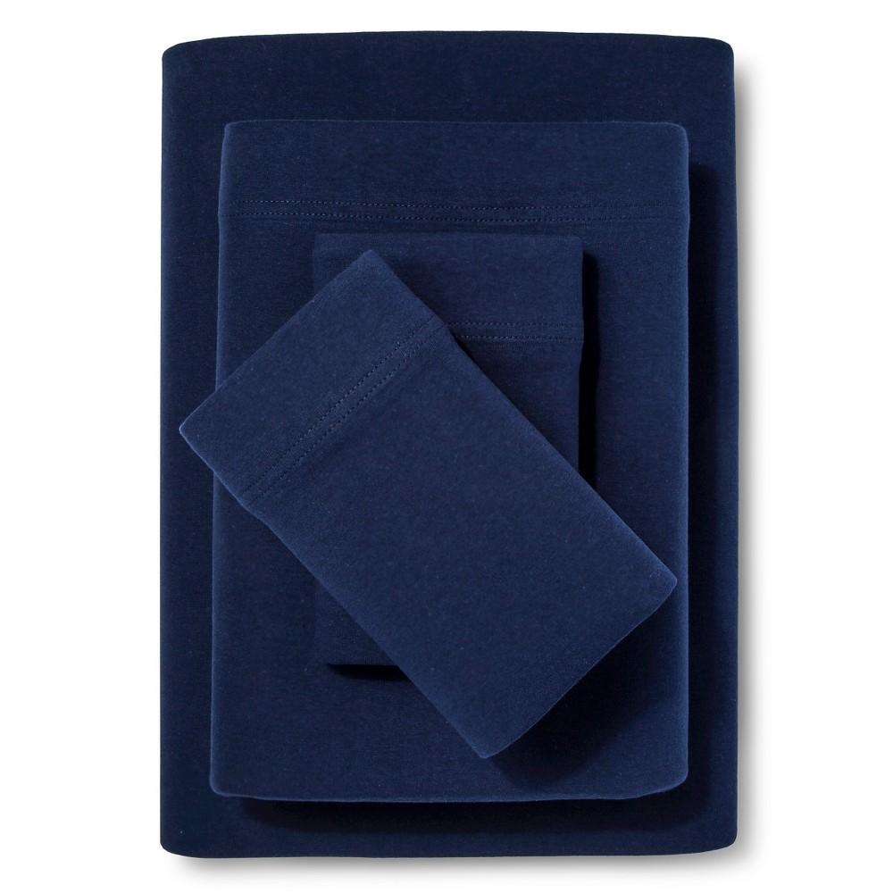 Queen Jersey Sheet Set Navy Room Essentials 8482