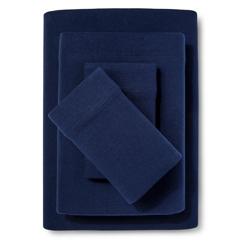 Jersey Sheet Set Solids - Room Essentials™ - image 1 of 1
