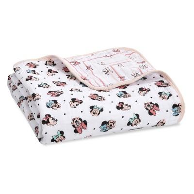 Aden + Anais Essentials Disney Baby Muslin Blanket - Minnie Rainbows