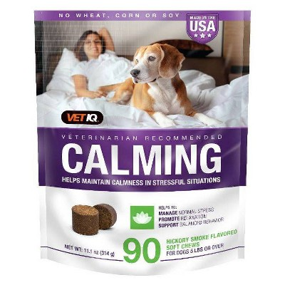 VetIQ Calming Chewable Supplement For Dogs