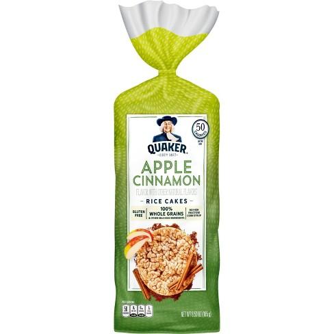 Quaker Large Rice Cake Apple Cinn - 6.53oz - image 1 of 3