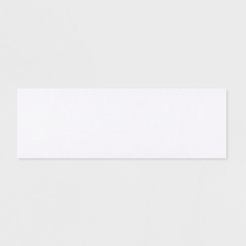 24 X72 Marshmallow Memory Bath Rug White Target