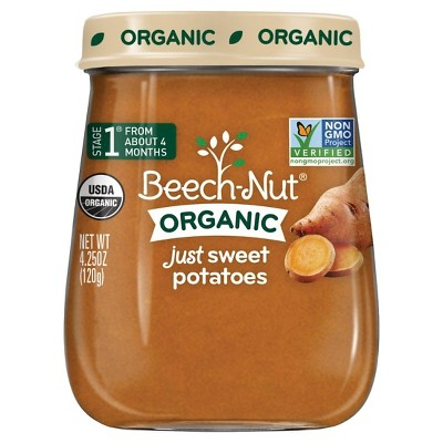 Beech-Nut Just Sweet Potatoes Stage 1, 4.25oz