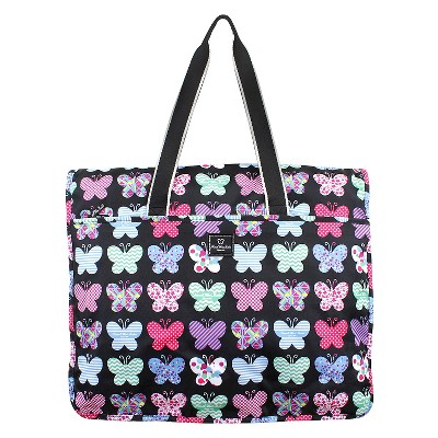 French West Indies Garment Tote - Butterfly