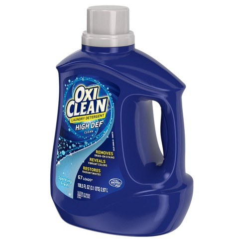 Oxiclean Fresh Scent Liquid Laundry Detergent 100 5 Fl