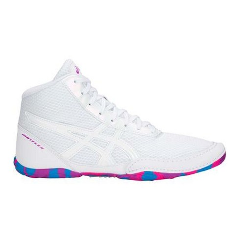 c2de3b36dbe Asics Matflex 5 GS Youth Wrestling Shoes - White   Target