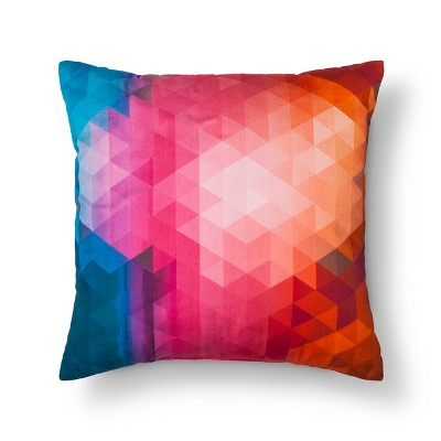 Pillow Geo Orange - Modern by Dwell Magazine
