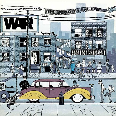 War - World Is A Ghetto (40th Anniversary) (CD) - image 1 of 1