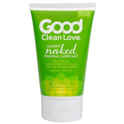Good Clean Love 95% Organic Almost Naked Personal Lube