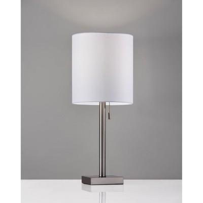 Liam Table Lamp Silver - Adesso