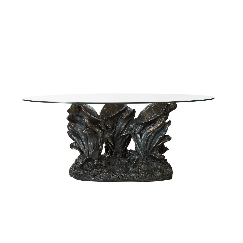 Montego Cocktail Table Resin Brown - Powell Company