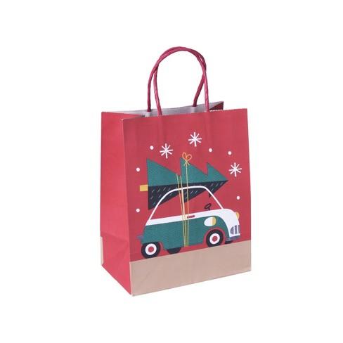 Car Christmas Gift Bag Red - Wondershop™ - image 1 of 1