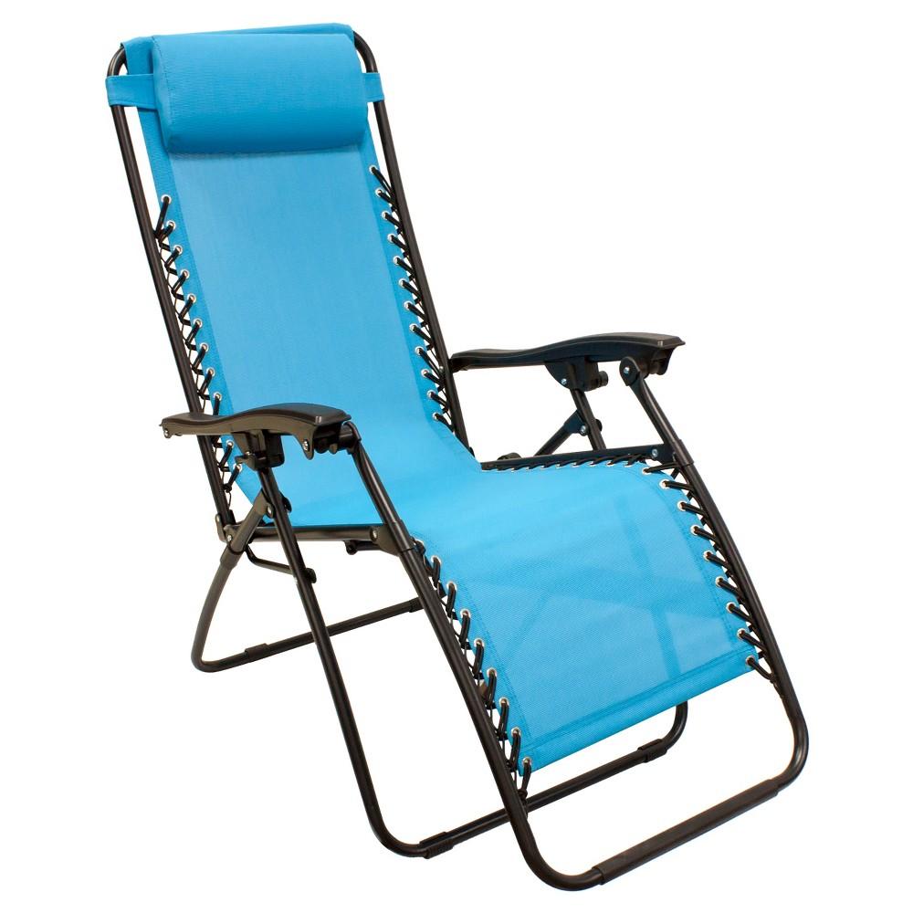 Image of Zero Gravity Lounge Chair - Blue - Captiva Design