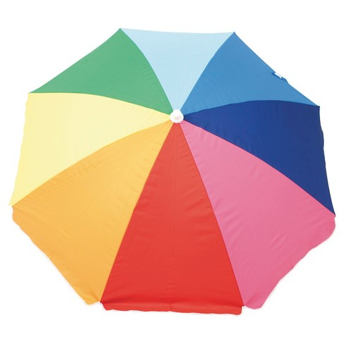 ea31dd0c8b06 6 FT Beach Umbrella Rainbow. Shop all EV Summer. This item has 0 photos  submitted from guests just like you!
