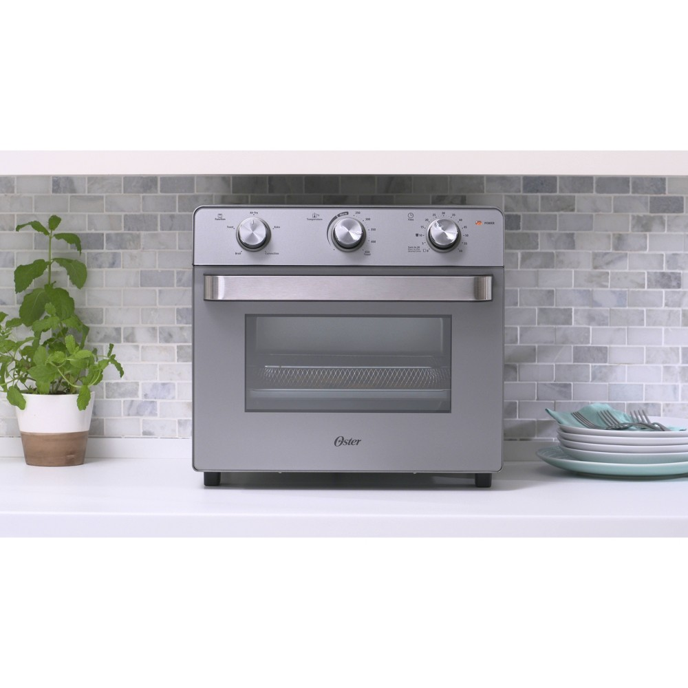 Image of Oster Countertop Oven with Air Fryer, Silver