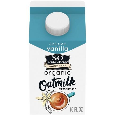 So Delicious Dairy Free Vanilla Oatmilk Creamer - 1pt - image 1 of 4