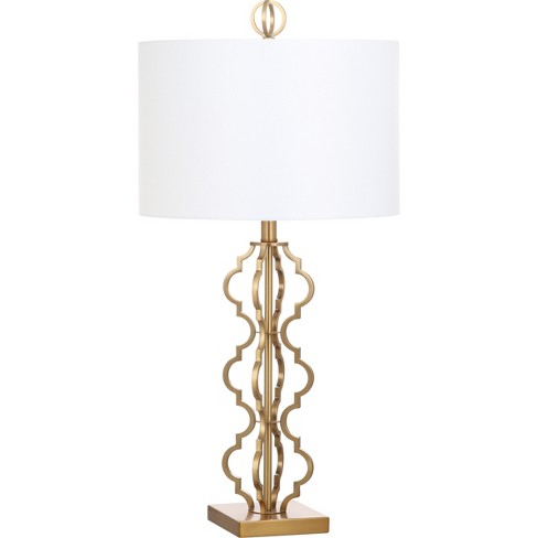 Table Lamp Gold (Includes Energy Efficient Light Bulb) - Safavieh - image 1 of 2
