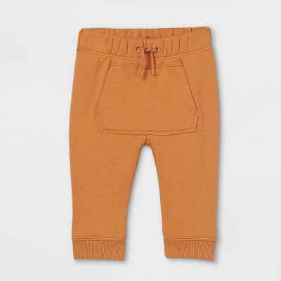 Baby Knit Jogger Pants - Cat & Jack™ Brown 0-3M