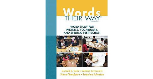 Words Their Way : Word Study for Phonics, Vocabulary, and Spelling Instruction (Paperback) (Donald R. - image 1 of 1
