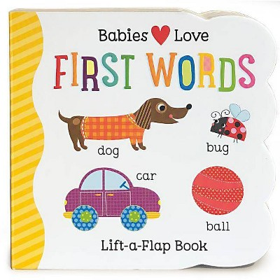 FIRST WORDS (Lift-a-Flap)(Board)(Scarlett Wing)