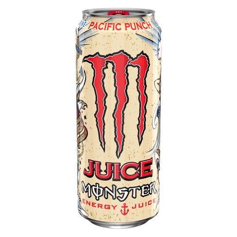 Monster Pacific Punch Energy Drink 16 Fl Oz Can Target