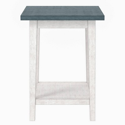 Brizza 1 Open Shelf Side Table - HOMES: Inside + Out