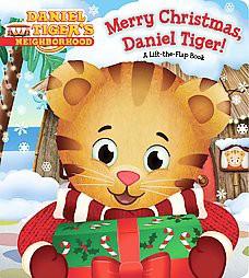 Merry Christmas, Daniel Tiger! ( Daniel Tiger's Neighborhood) by Angela C. Santomero (Board Book)