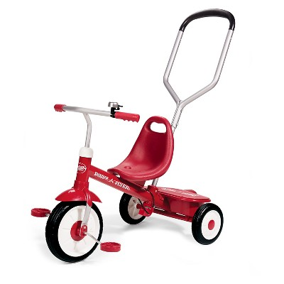 Radio Flyer Steer and Stroll Trike - Red