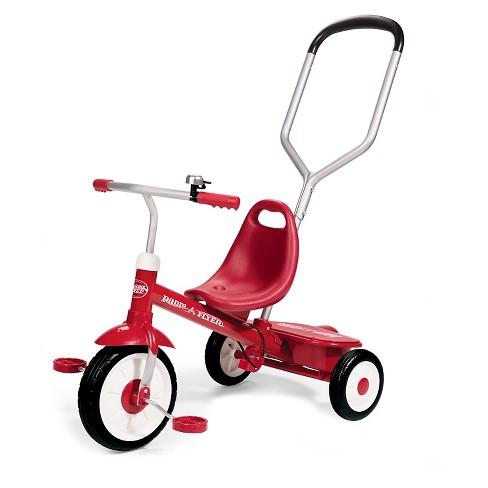 Radio Flyer Bike >> Radio Flyer Steer Stroll Trike Red