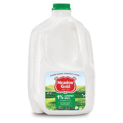 Meadow Gold 1% Milk - 1gal