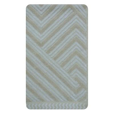 Sculpted Accent Hand Towel Creamy Chai - Nate Berkus™