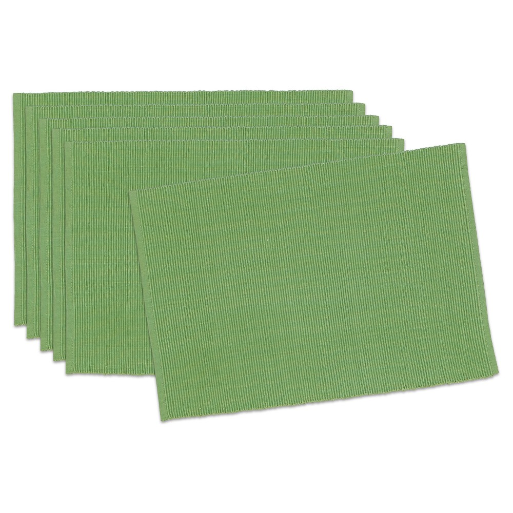 Green Jolly Placemats (Set Of 6) - Design Imports