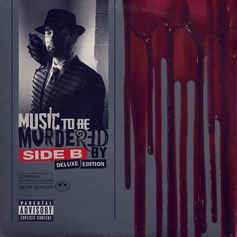Eminem - Music To Be Murdered By - Side B (Deluxe Edition) (Opaque Grey 4 LP) (EXPLICIT LYRICS) (Vinyl) - image 1 of 1