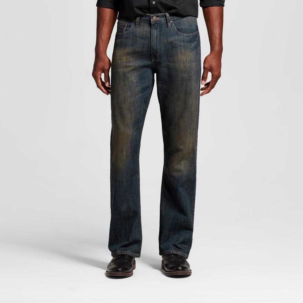 Wrangler Men's Bootcut Fit Jeans - Dirty 33X30
