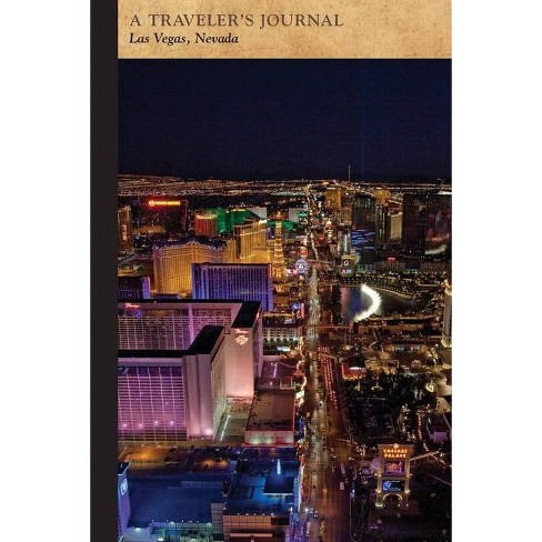 Las Vegas, Nevada: A Traveler's Journal - (Travel Journal) by  Applewood Books (Paperback) - image 1 of 1