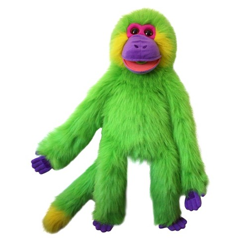 The Puppet Company Funky Monkey Plush Puppet - Green - image 1 of 2