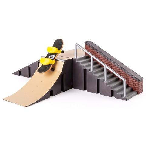 Tech Deck Fingerboard Starter Kit Launch Ramp Stair Set And Kicker