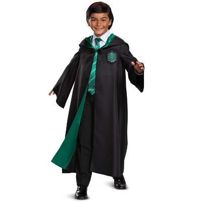 Harry Potter Slytherin Robe Deluxe Child Costume