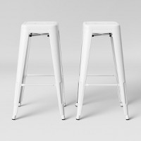 2 Pack Threshold Carlisle Backless Barstools