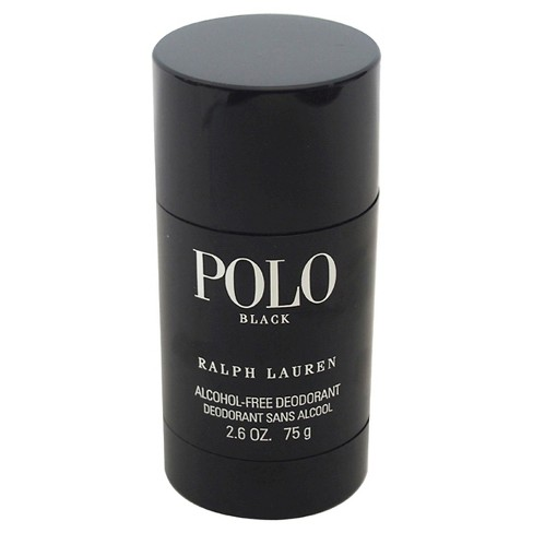 Polo Black by Ralph Lauren for Men - Alcohol-Free Deodorant Stick - 2.6 oz - image 1 of 1