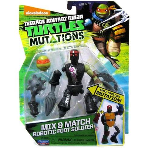 Teenage Mutant Ninja Turtles Nickelodeon Mutations Mix and Match Robotic Foot Soldier Action Figure - image 1 of 1