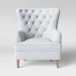 Emmorton Accent Wing Chair Cream - Threshold™