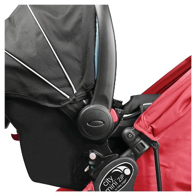 City Mini ZIP - Single Car Seat Adapter for Baby Jogger City GO and Graco Click Connect