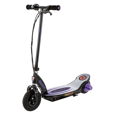 Razor Electric Scooter With Seat >> Razor Power Core E100 Electric Scooter Purple Black