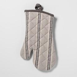 Stripe Oven Mitt Gray - Threshold™