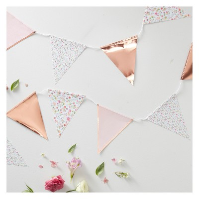 Floral Print Bunting Ditsy Party Decoration