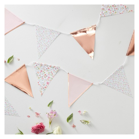 Floral Print Bunting Ditsy Party Decoration - image 1 of 2