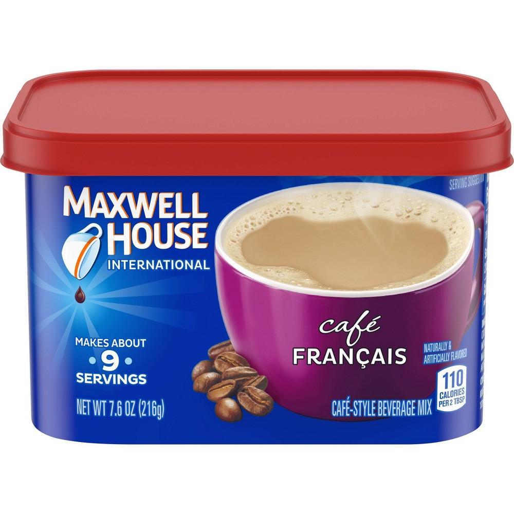 Maxwell House International Caf 233 Francais Beverage Mix 7 6oz