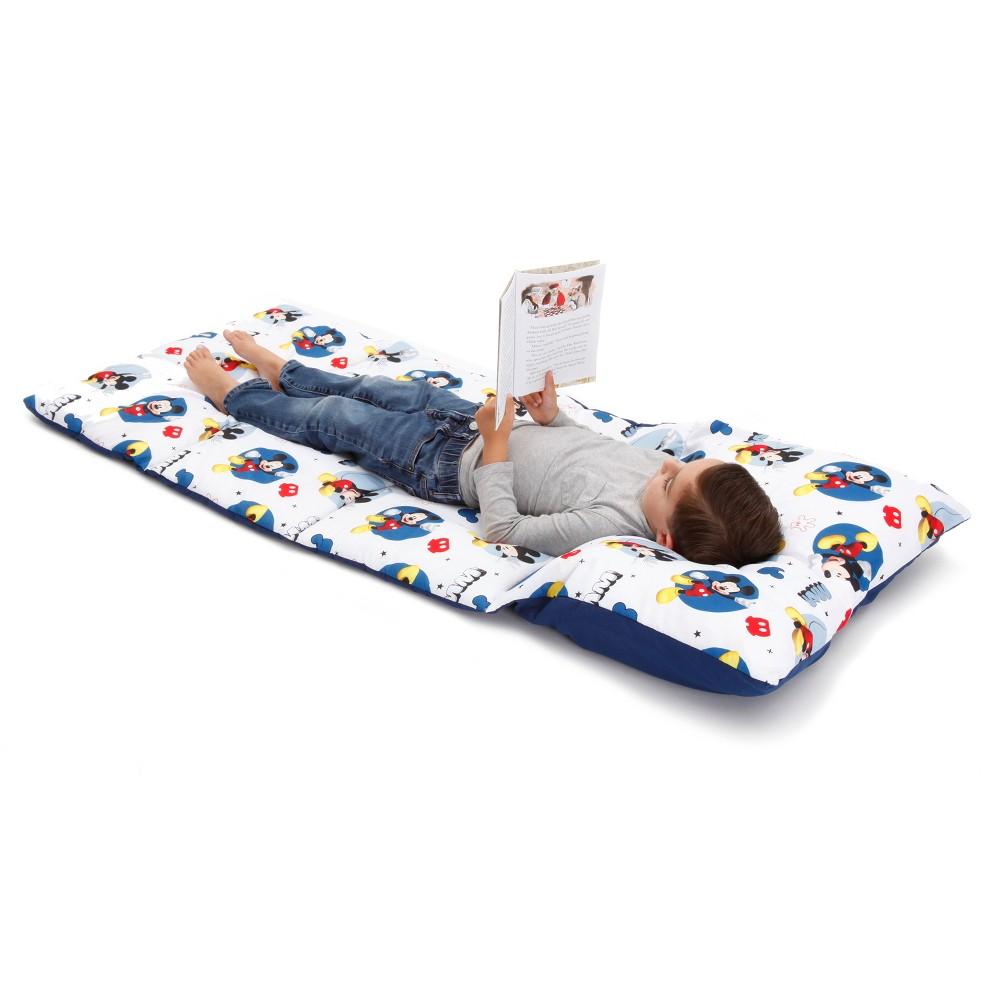 Disney Mickey Mouse Easy Fold Nap Mat, Blue